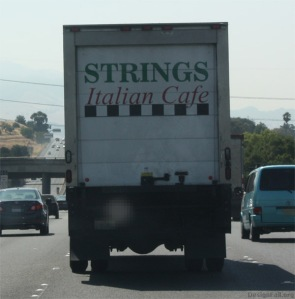 Strings catering. All sizes